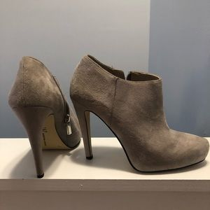 INC ankle booties
